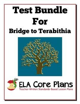 Bridge to Terabithia Test Bundle ~ Two Tests and Study Gui