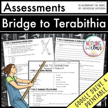 Bridge to Terabithia: Tests, Quizzes, Assessments