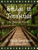 A month-long Bridge to Terabithia Unit