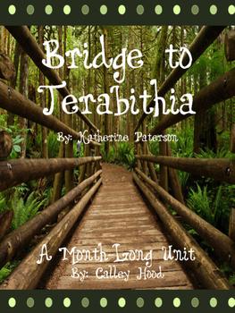A month-long Bridge to Terabithia Unit