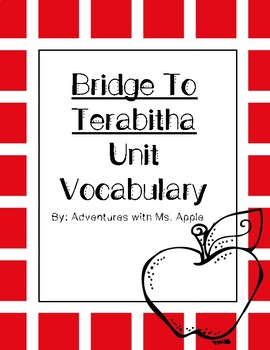 Bridge to Terabithia Vocabulary