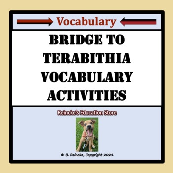 Bridge to Terabithia Vocabulary Activities