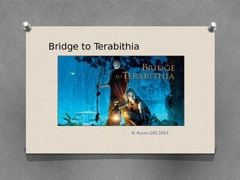 Bridge to Terabithia Vocabulary Slides