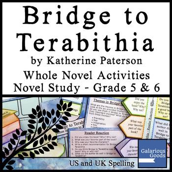 Bridge to Terabithia Whole Novel Activities