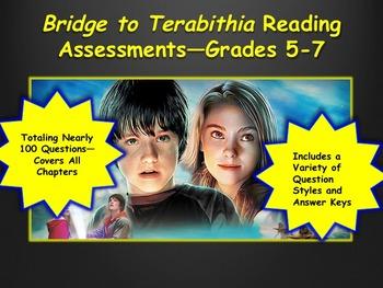 Bridge to Terabithia Reading Assessments—Grades 5-7