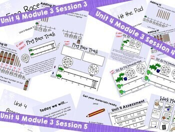 Bridges 1st Grade Math POWERPOINTS Unit 4, Module 3 Jump by 5s & 10s Open # Line