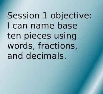 Bridges 4th Grade Unit 3 Module 3 Vocabulary and Objectives