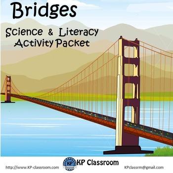 Bridges Activity Packet with Popsicle Stick Bridge Project