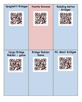 Bridges/Engineering/Architecture/Puentes/Ingenieria/Arquitectura QR codes Spanis