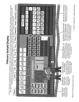Bridges February Number Corner Kindergarten Teacher Guide Made Easy!
