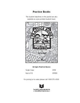 Bridges Grade 1 Practice Book by Teddy Boile   Teachers ...