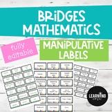 Bridges Manipulative Labels - EDITABLE