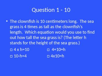 Bridges Math-3rd Grade Unit 2 Jeopardy Review