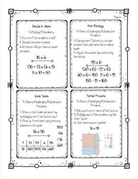 Bridges Math Academic Vocabulary & Math Strategies Journals - Unit 1