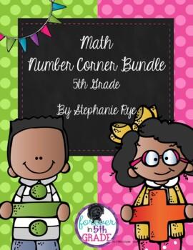 Bridges Math Number Corner Bundle