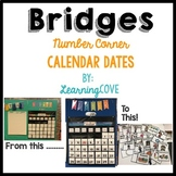 Bridges Mathematics Calendar Numbers and Special Events for Number Corner