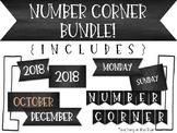 Bridges Number Corner Chalkboard BUNDLE!