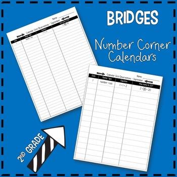 Bridges Number Corner Observation Chart - 2nd Grade by ...