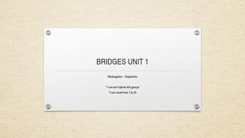 Bridges Unit 1 - Number Corner & Math