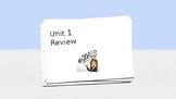 Bridges Unit 1 Review