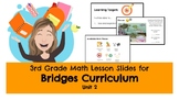 Bridges Unit 2 Lesson Plans