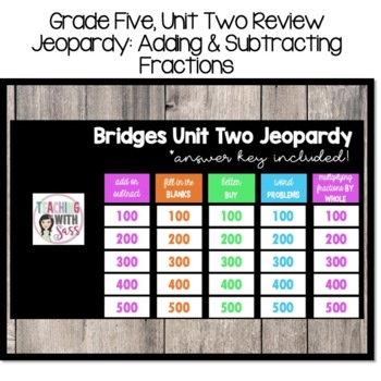 Bridges In Mathematics Grade 2 Answer Key