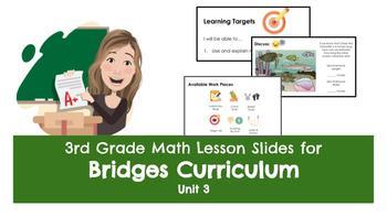 Bridges Unit 3 Lesson Plans