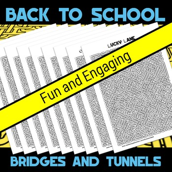 Back to School Bridges and Tunnels Amazing Mazes