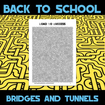 Bridges and Tunnels Amazing Mazes Book One