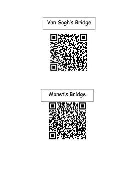 Bridges in Art-QR Codes
