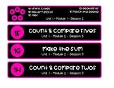 Bridges in Math Workplace Bin Labels - ALL UNITS: 1-8 - 2nd Grade