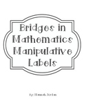 Manipulative Labels for use with Bridges in Mathematics