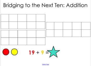 Bridging to the Next Ten Math Strategy
