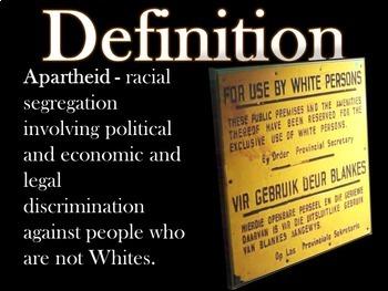 Brief History of Apartheid: Background to Kaffir Boy