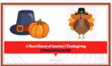 Brief History of Thanksgiving: Web-based Power Point Teaching