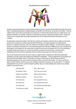 Brief History of the Pinata / Breve Historia de la Pinata