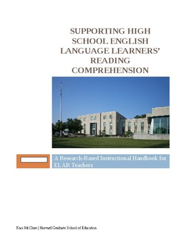 Brief Instructional Handbook for Working with High School ELLs