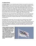 Brief Intro. Olympics