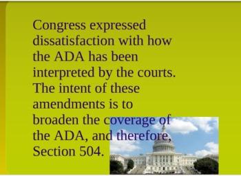 Brief Summary of ADAA