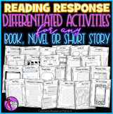 Reading Comprehension / Response Activities Pack