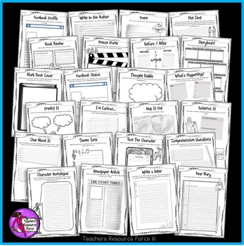 Distance Learning Reading Comprehension Activities Printable & Digital