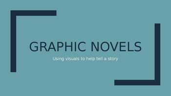 Brief intro to Graphic Novels layout