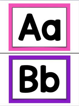 Bright Alphabet