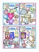 Bright Alphabet Bundle Set #2  includes Letters H-N