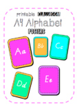 Bright Alphabet Classroom Display Neon!