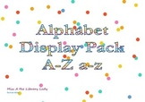 Bright Alphabet Display Pack