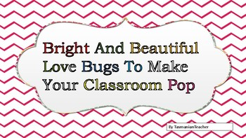 Bright And Beautiful Bugs Clip Art