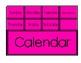 Bright Apple Calendar Set