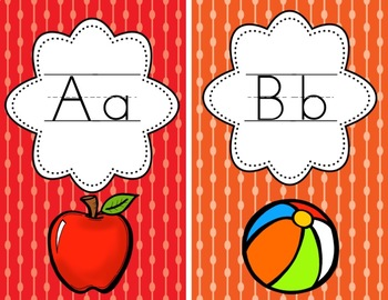 Bright Apple Classroom Decor
