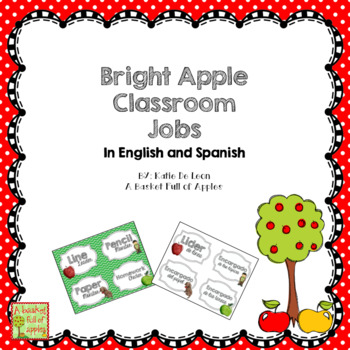 Bright Apple Classroom jobs in English and Spanish